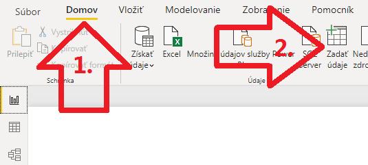 Ako obísť mrznutie klávesov v Power BI Desktope - prvý krok